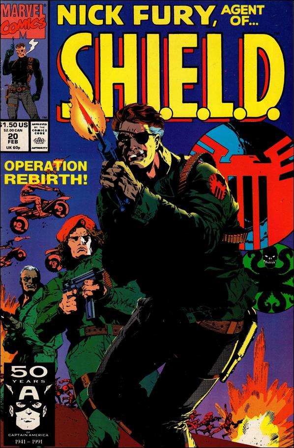 Nick Fury, Agent of S.H.I.E.L.D. (1989) 20-A by Marvel