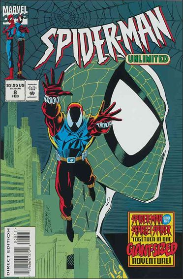 Spider-Man Unlimited (1993) 8-A by Marvel
