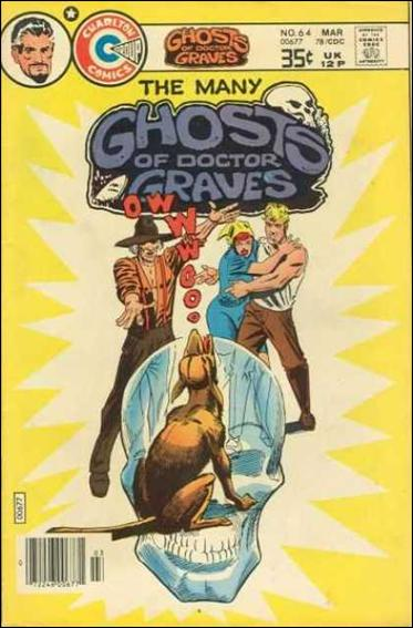 Many Ghosts of Dr. Graves 64-A by Charlton