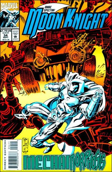 Marc Spector: Moon Knight 54-A by Marvel