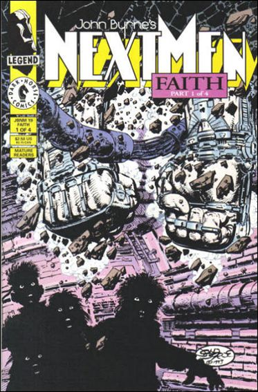 John Byrne's Next Men (1992) 19-A by Dark Horse
