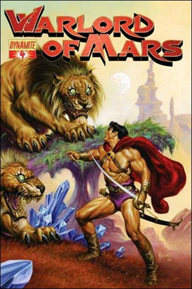 Warlord of Mars 4-B by Dynamite Entertainment