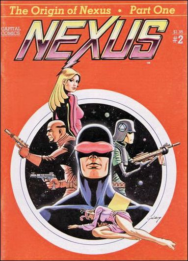 Nexus (1981) 2-A by Capital Comics