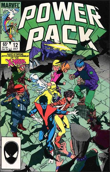 Power Pack (1984) 12-A by Marvel