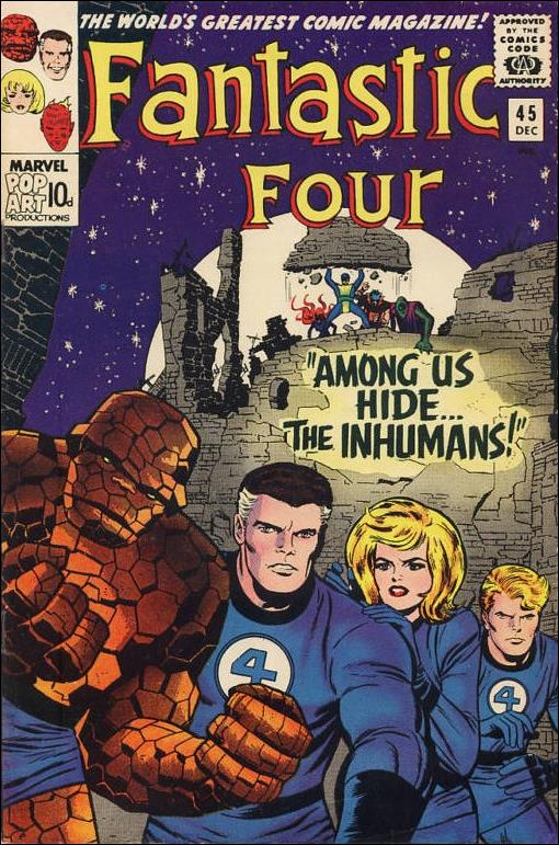 Fantastic Four (1961) 45-B by Marvel