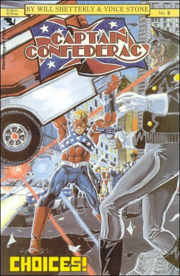 Captain Confederacy (1986) 3-A by SteelDragon Press