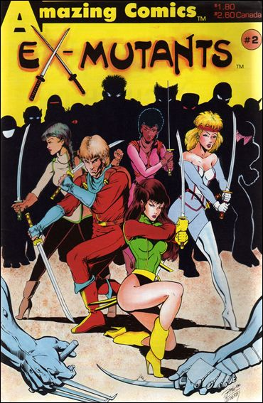 Ex-Mutants (1986) 2-A by Eternity