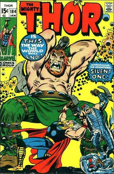 Thor (1966) 184-A by Marvel