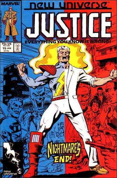 Justice (1986) 15-A by Marvel