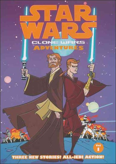 Star Wars: Clone Wars Adventures 1-A by Dark Horse