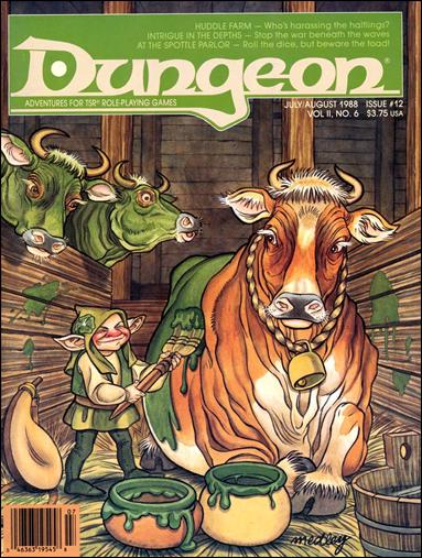 Dungeon 12-A by Paizo Publishing