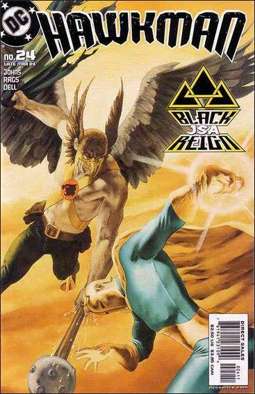 Hawkman (2002) 24-A by DC