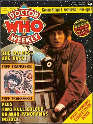 Doctor Who Weekly 1-A by Marvel UK
