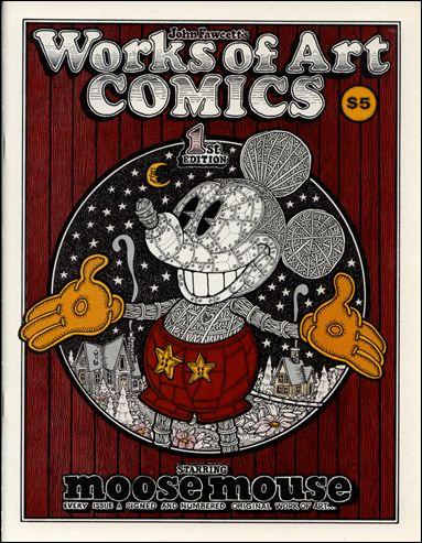 Works of Art Comics 1-A by John S. Fawcett