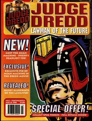 Judge Dredd - Lawman of the Future 3-A by Fleetway