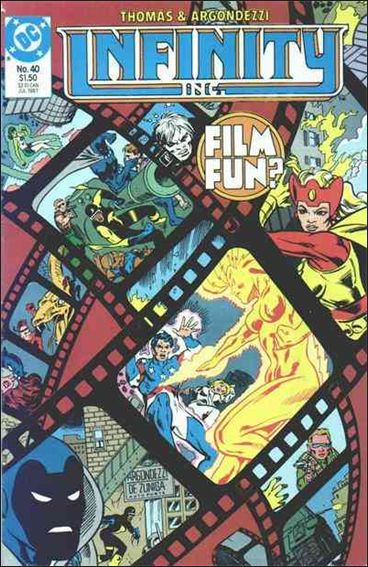 Infinity Inc. (1984) 40-A by DC