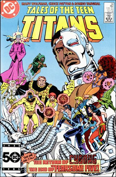 Tales of the Teen Titans 58-A by DC