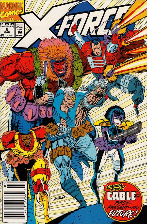 X-Force (1991) 8-A by Marvel