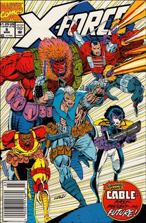 X-Force (1991) 8-A