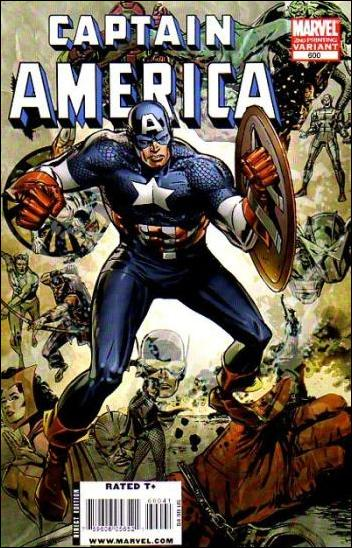 Captain America (1968) 600-C by Marvel