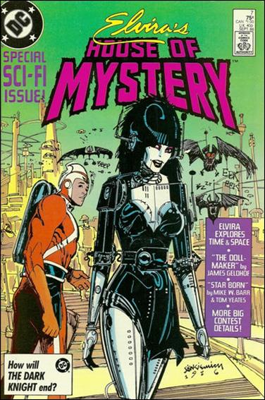 Elvira's House of Mystery 7-A by DC