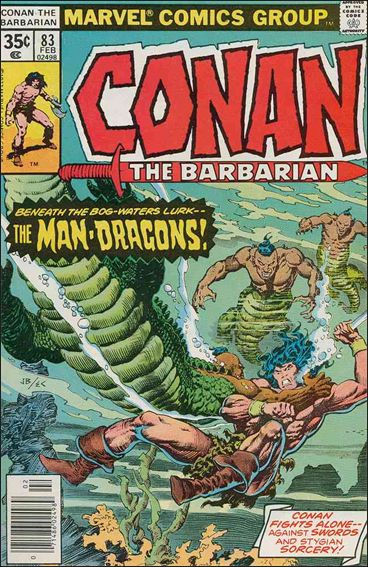 Conan the Barbarian (1970) 83-A by Marvel