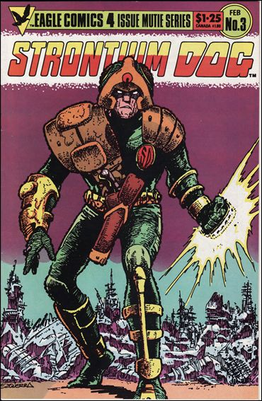 Strontium Dog (1985) 3-A by Eagle Comics