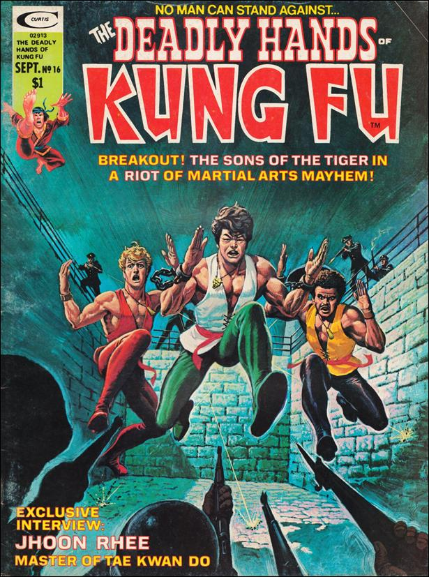 Deadly Hands of Kung Fu (1974) 16-A by Marvel