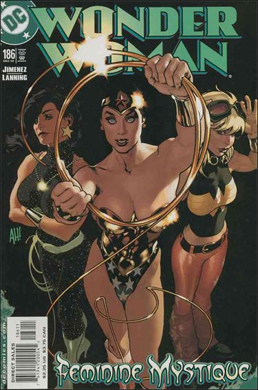 Wonder Woman (1987) 186-A by DC