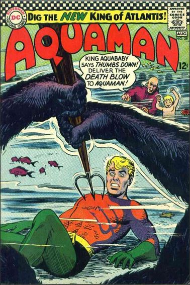 Aquaman (1962) 28-A by DC