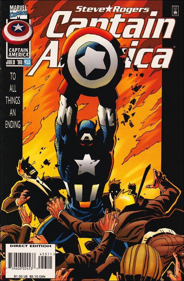 Captain America (1968) 453-A by Marvel