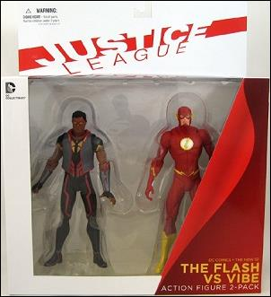 DC New 52: Deluxe & Box Sets Flash vs. Vibe by DC Collectibles