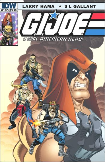 G.I. Joe: A Real American Hero 185-A by IDW