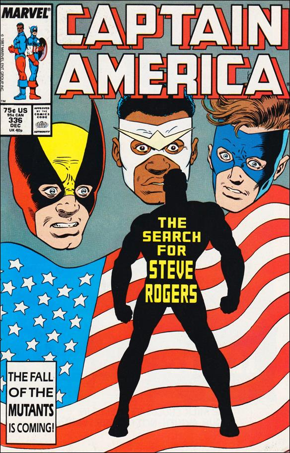 Captain America (1968) 336-A by Marvel