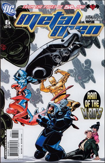Metal Men (2007) 6-A by DC