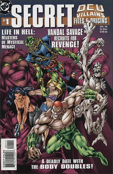 DCU Villains: Secret Files and Origins 1-A by DC