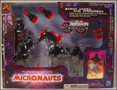 Micronauts (Series 1) Baron Karza & Andromeda by Palisades Toys