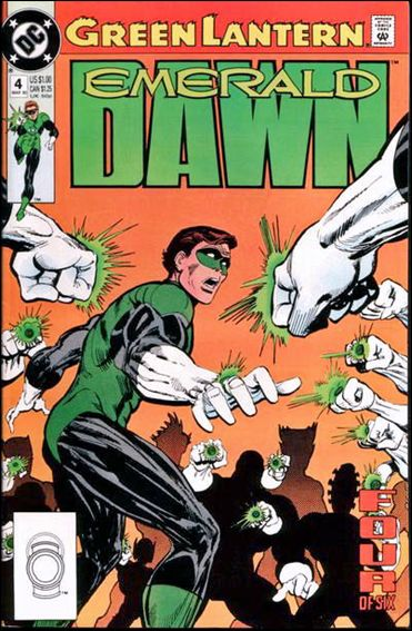 Green Lantern: Emerald Dawn 4-A by DC
