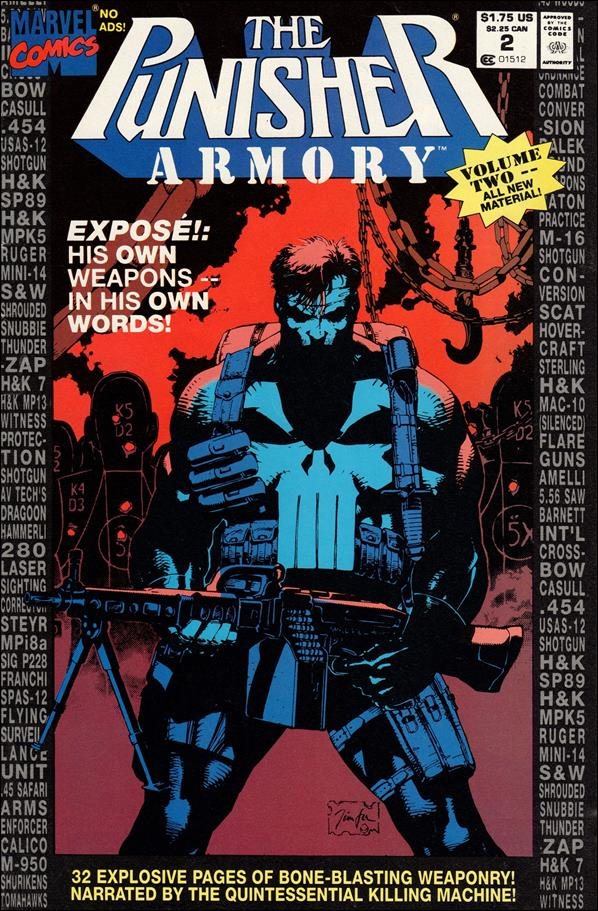 Punisher Armory 2-A by Marvel