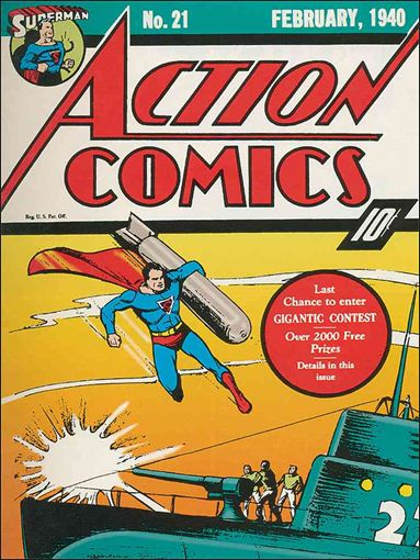 Action Comics (1938) 21-A by DC