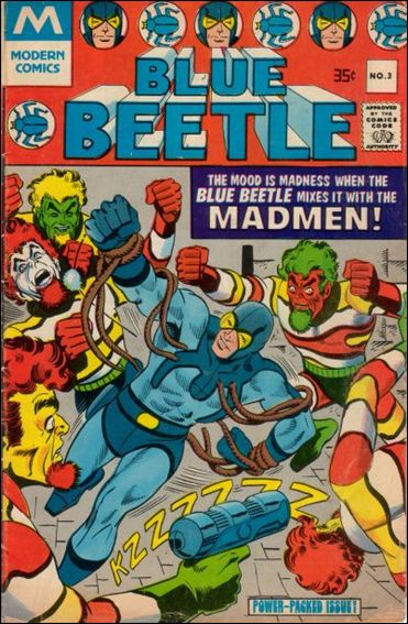 Blue Beetle (1967) 3-B by Charlton