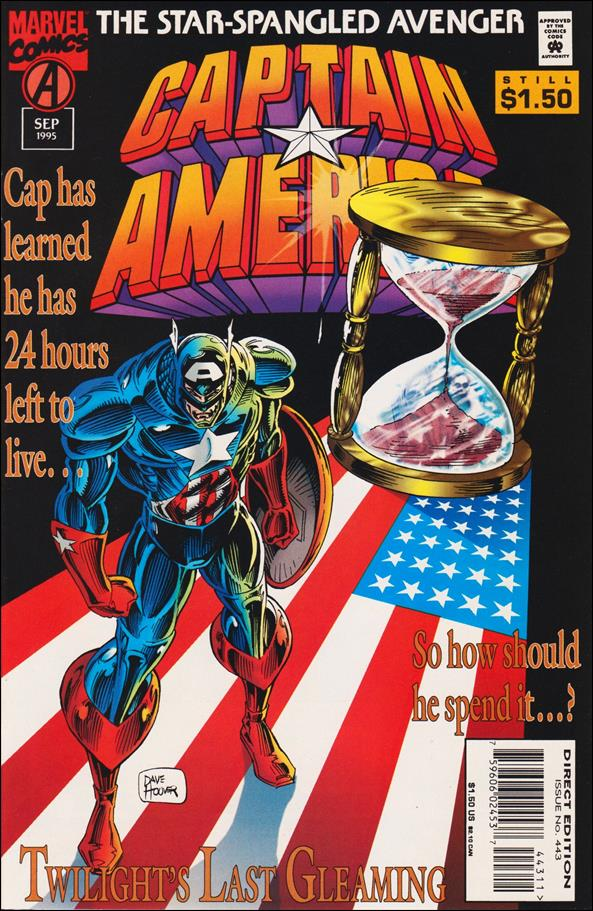 Captain America (1968) 443-A by Marvel