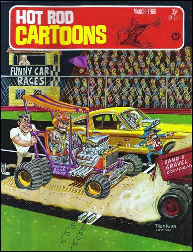 Hot Rod Cartoons 21-A by Petersen
