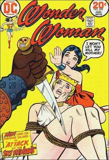 Wonder Woman (1942) 209-A by DC
