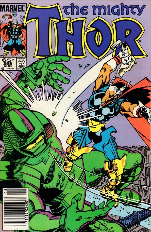 Thor (1966) 358-A by Marvel