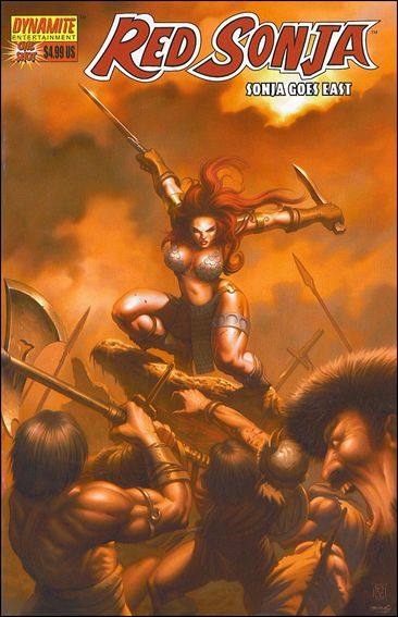 Red Sonja Goes East 1-A by Dynamite Entertainment