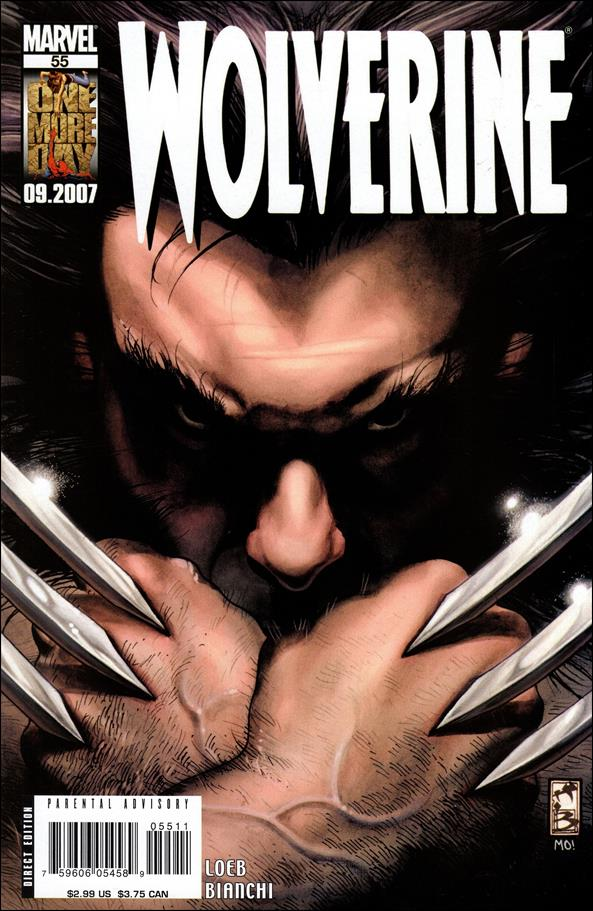 Wolverine (2003)  55-A by Marvel