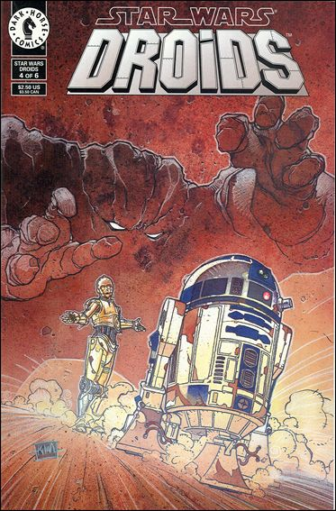 Star Wars: Droids (1994) 4-A by Dark Horse