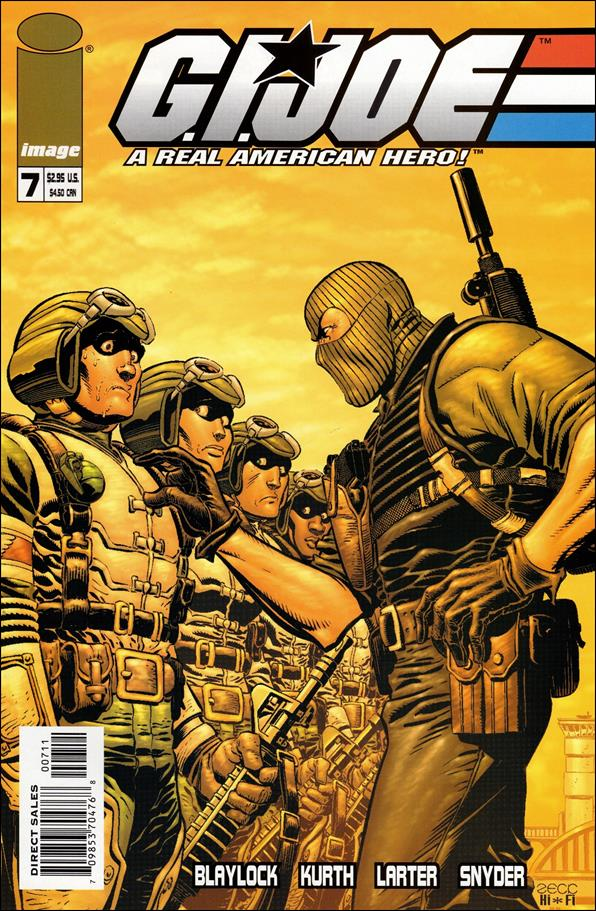 G.I. Joe (2001) 7-A by Devil's Due