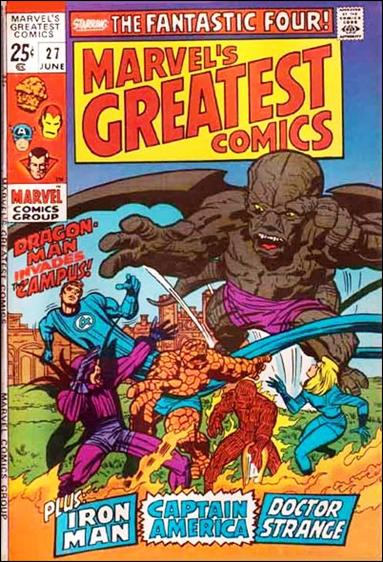 Marvel's Greatest Comics 27-A by Marvel
